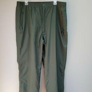 Perry Ellis Rain Pants Outdoor XL Tall Nylon